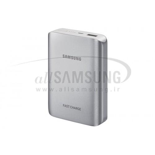 پاور بانک سامسونگ 10200mAh نقره ای Samsung Fast Charge Battery Pack Silver