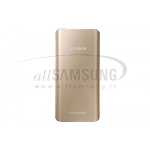 پاور بانک سامسونگ Samsung Fast Charge Battery Pack 5200mAh Gold EB-PN920UFEG