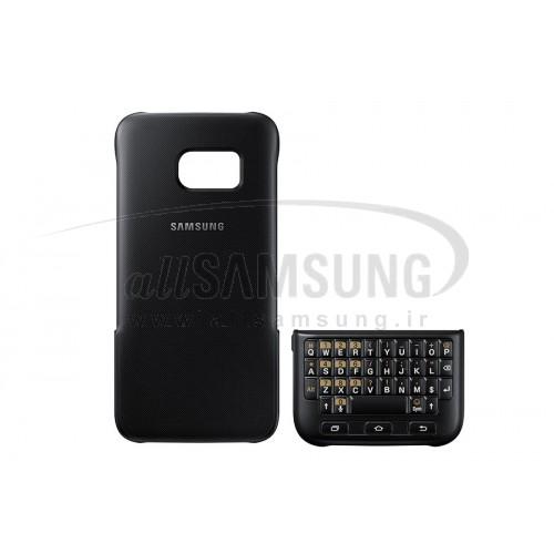گلکسی اس 7 سامسونگ کیبورد کاور مشکی Samsung Galaxy S7 Keyboard Cover Black