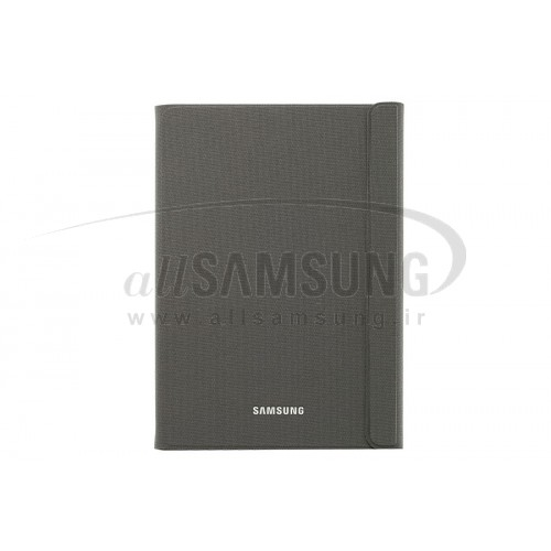 گلکسی تب ای 9.7 سامسونگ بوک کاور خاکستری Samsung Galaxy Tab A 9.7 Book Cover Gray