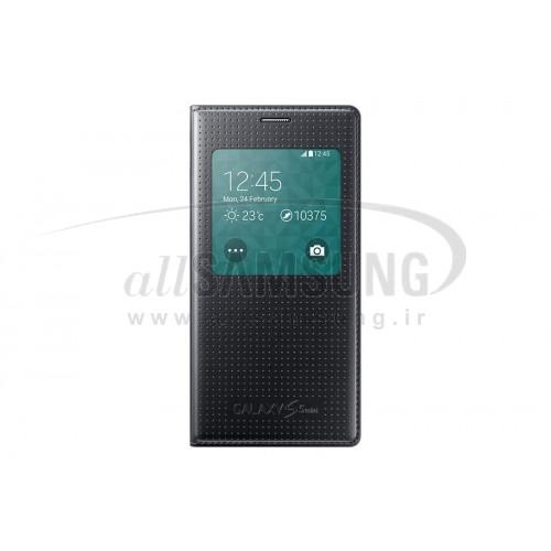 گلکسی اس 5 مینی سامسونگ اس ویو کاور مشکی Samsung Galaxy S5 Mini S View Cover Black