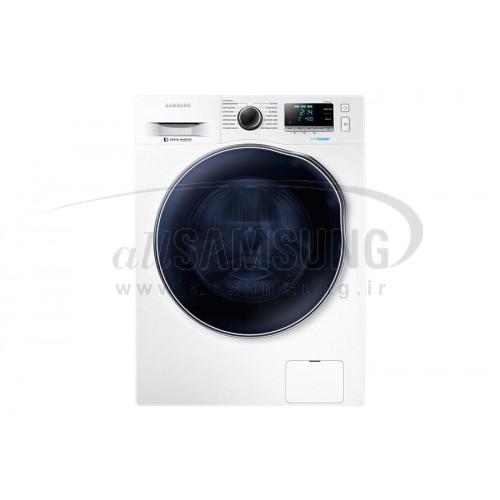 ماشین لباسشویی و خشک کن سامسونگ 8 کیلویی گیربکسی سفید Samsung Washing Machine 8kg Q1469 White