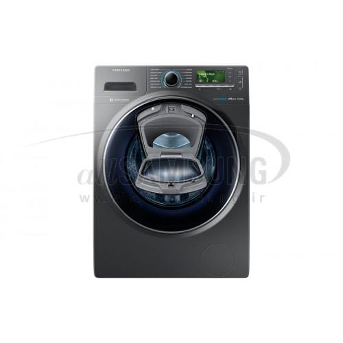 ماشین لباسشویی سامسونگ 12 کیلویی تسمه ای اینوکس Samsung Washing Machine 12kg H147 Inox