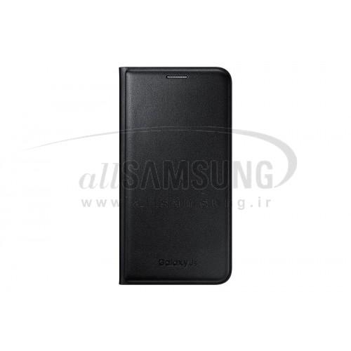 گلکسی جی 5 سامسونگ فلیپ ولت مشکی Samsung Galaxy J5 Flip Wallet Black