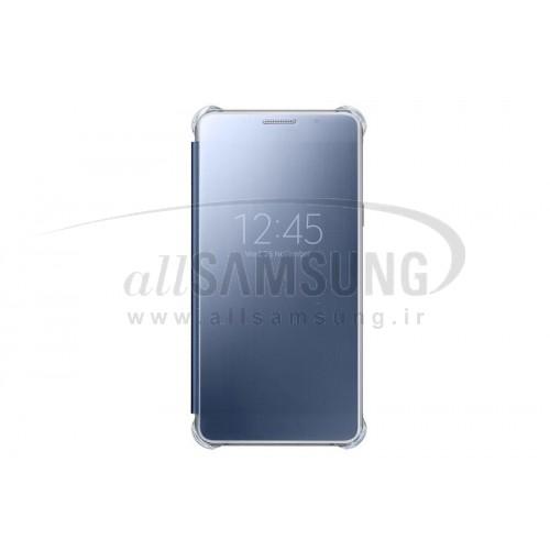 گلکسی ای 7 2016 سامسونگ کلیر ویو کاور مشکی Samsung Galaxy A7 2016 Clear View Cover Black