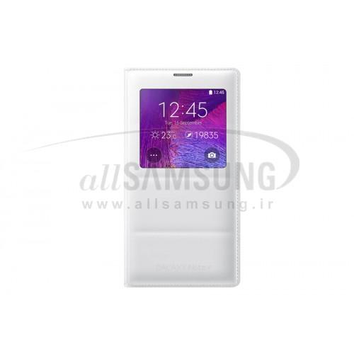 گلکسی نوت 4 سامسونگ اس شارژر ویو کیت سفید Samsung Galaxy Note4 S Charger View Kit White