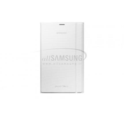 گلکسی تب اس 8.4 سامسونگ بوک کاور سفید Samsung Tab S 8.4 Book Cover White