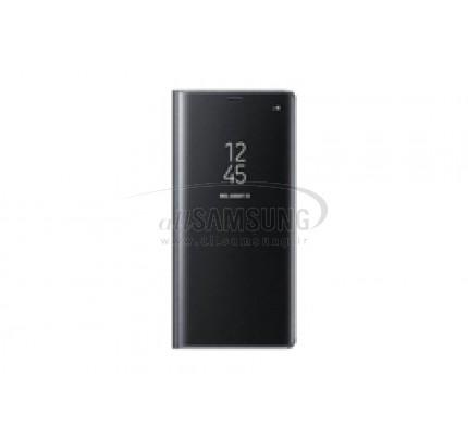 گلکسی نوت 8 سامسونگ کلیر ویو استندینگ کاور مشکی Samsung Galaxy Note8 Clear View Standing Cover Black