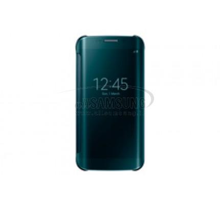 گلکسی اس 6 اج سامسونگ کلیر ویو کاور سبز Samsung Galaxy S6 Edge Clear View Cover Green