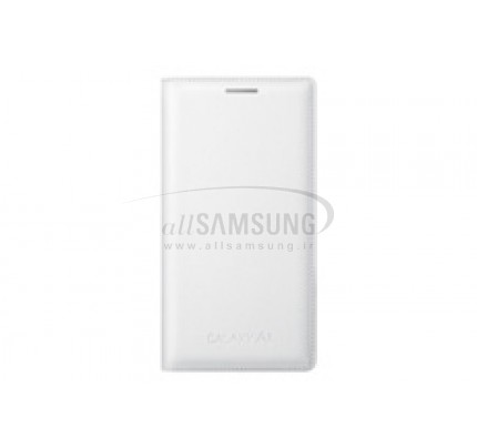 گلکسی ای 3 سامسونگ فلیپ کاور سفید Samsung Galaxy A3 Flip Cover White