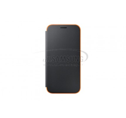 گوشی سامسونگ گلکسی ای 7 2017 نئون فلیپ کاور مشکی Samsung Galaxy A7 2017 Neon Flip Cover FA720P Black