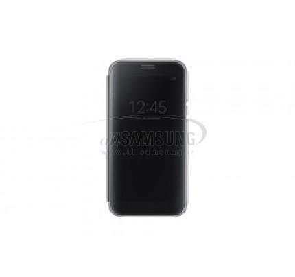 گوشی سامسونگ گلکسی ای 5 2017 کلیر ویو کاور مشکی Samsung Galaxy A5 2017 Clear View Cover Black EF-ZA520