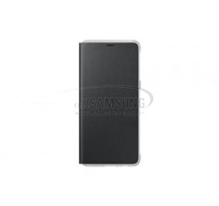 گوشی سامسونگ گلکسی ای 8 نئون فلیپ کاور مشکی Samsung Galaxy A8 2018 Neon Flip Cover FA530P Black
