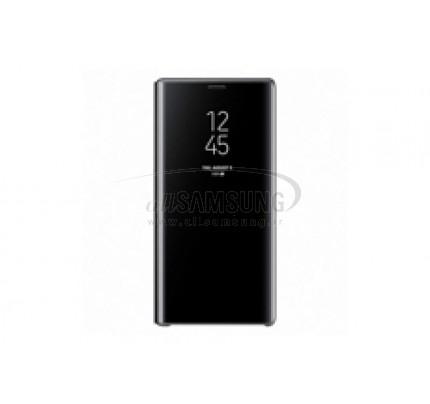 گلکسی نوت 9 سامسونگ کلیر ویو استندینگ کاور مشکی Samsung Galaxy Note9 Clear View Standing Cover Black