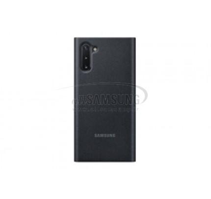 گلکسی نوت 10 سامسونگ کلیر ویو کاور مشکی Samsung Galaxy Note10 Clear View Cover Black