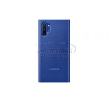 گلکسی نوت 10 پلاس سامسونگ کلیر ویو کاور آبی Samsung Galaxy Note10+ Clear View Cover Blue EF-ZN975CL