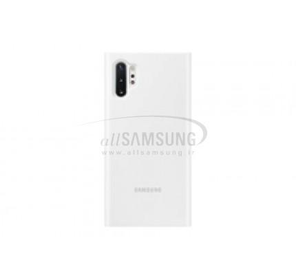 گلکسی نوت 10 پلاس سامسونگ کلیر ویو کاور سفید Samsung Galaxy Note10+ Clear View Cover White