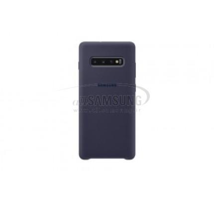 گلکسی اس 10 پلاس سامسونگ سیلیکون کاور سرمه ای Samsung Galaxy S10+ Silicone Cover Navy EF-PG975TN