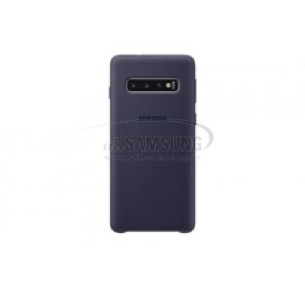گلکسی اس 10 سامسونگ سیلیکون کاور سرمه ای Samsung Galaxy S10 Silicone Cover Navy EF-PG973TN