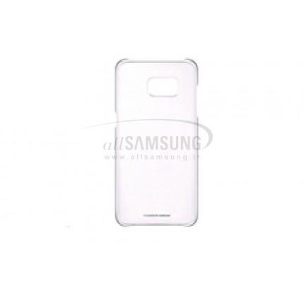 گلکسی اس 7 اج سامسونگ کلیر کاور نقره ای Samsung Galaxy S7 edge Clear Cover Silver