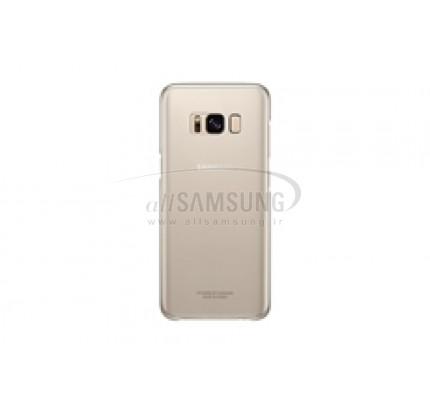 گلکسی اس 8 سامسونگ کلیر کاور طلایی Samsung Galaxy S8 Clear Cover Gold EF-QG950CF