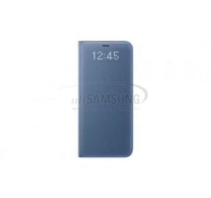 گلکسی اس 8 سامسونگ ال ای دی ویو کاور آبی Samsung Galaxy S8 LED View Cover Blue EF-NG950PL
