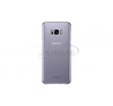 گلکسی اس 8 پلاس سامسونگ کلیر کاور بنفش Samsung Galaxy S8+ Clear Cover Violet EF-QG955CV