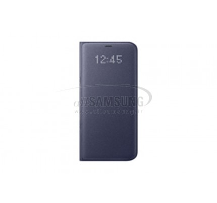 گلکسی اس 8 پلاس سامسونگ ال ای دی ویو کاور بنفش Samsung Galaxy S8+ LED View Cover Violet EF-NG955PV