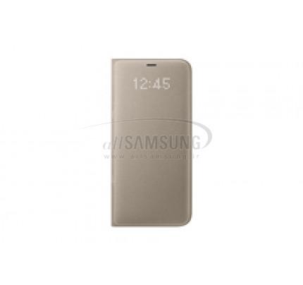 گلکسی اس 8 پلاس سامسونگ ال ای دی ویو کاور طلایی Samsung Galaxy S8+ LED View Cover Gold EF-NG955PF