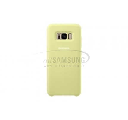 گلکسی اس 8 پلاس سامسونگ سیلیکون کاور سبز Samsung Galaxy S8+ Silicone Cover Green