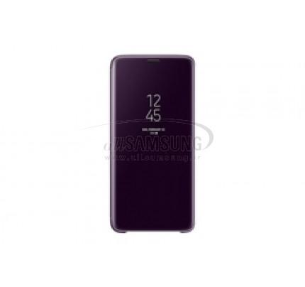 گلکسی اس 9 پلاس سامسونگ کلیر ویو استندینگ کاور بنفش Samsung Galaxy S9+ Clear View Standing Cover Purple