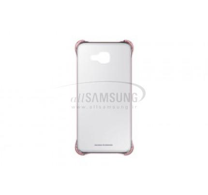 گلکسی ای 7 2016 سامسونگ کلیر کاور پینک گلد Samsung Galaxy A7 2016 Clear Cover PinkGold