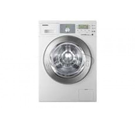 ماشین لباسشویی سامسونگ 8 کیلویی بدون تسمه Q1455 سفید Samsung Washing Machine 8kg Q1455 White