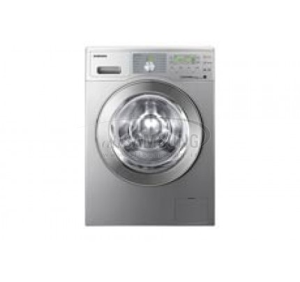 ماشین لباسشویی سامسونگ 8 کیلویی بدون تسمه Q1455 نقره ای Samsung Washing Machine 8kg Q1455 Silver