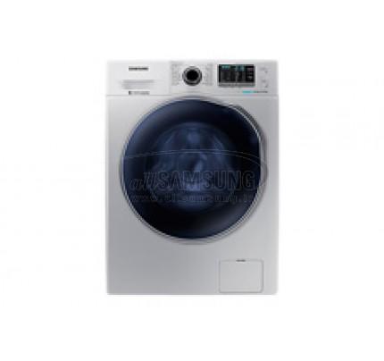 ماشین لباسشویی و خشک کن سامسونگ 8 کیلویی گیربکسی نقره ای Samsung Washing Machine 8kg Q1469 Silver