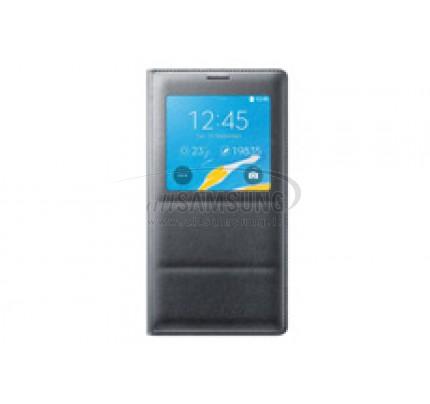 گلکسی نوت 4 سامسونگ اس ویو کاور مشکی Samsung Galaxy Note4 S View Cover Black