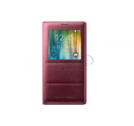 گلکسی نوت 4 سامسونگ اس ویو کاور قرمز Samsung Galaxy Note4 S View Cover Red