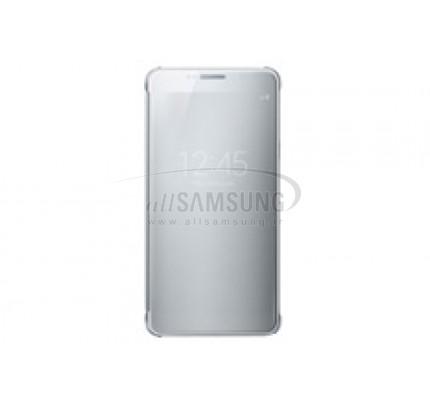 گلکسی نوت 5 سامسونگ کلیر ویو کاور نقره ای Samsung Galaxy Note5 Clear View Cover Silver