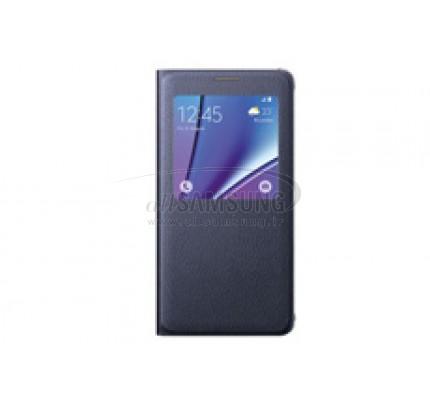 گلکسی نوت 5 سامسونگ اس ویو کاور مشکی Samsung Galaxy Note5 S View Cover Black