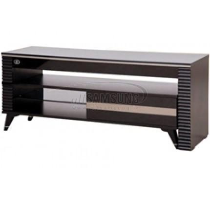 میز تلویزیون سامسونگ مدل R204 مشکی نقره ای Tv Stand R204 Black Silver Gloss
