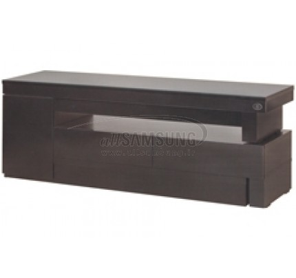 میز تلویزیون سامسونگ مدل R39 مشکی های گلاس Tv Stand R39 Black High Gloss