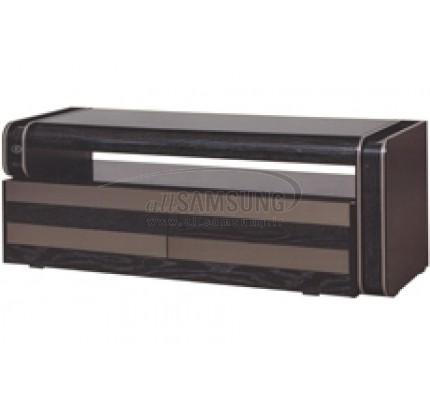 میز تلویزیون سامسونگ مدل R408 مشکی لیزری/ نقره ای Tv Stand R408 Laser Black/ Silver