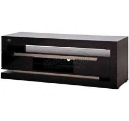 میز تلویزیون سامسونگ مدل R410 مشکی نقره ای Tv Stand R410 Black Silver Gloss