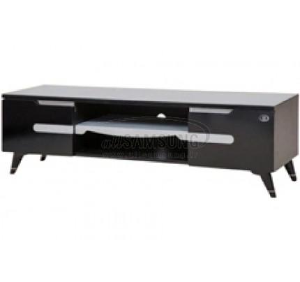 میز تلویزیون سامسونگ مدل R414 مشکی نقره ای Tv Stand R414 Black Silver Gloss