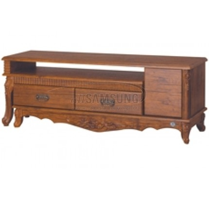 میز تلویزیون سامسونگ مدل R702 آنتیک کاج Tv Stand R702 Antique Kaj