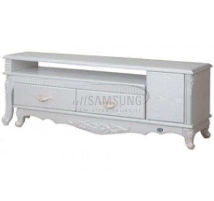 میز تلویزیون سامسونگ مدل R702 سفید لیزری Tv Stand R702 Laser White