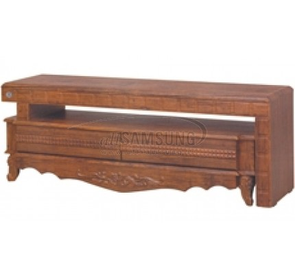 میز تلویزیون سامسونگ مدل R708 آنتیک کاج Tv Stand R708 Antique Kaj