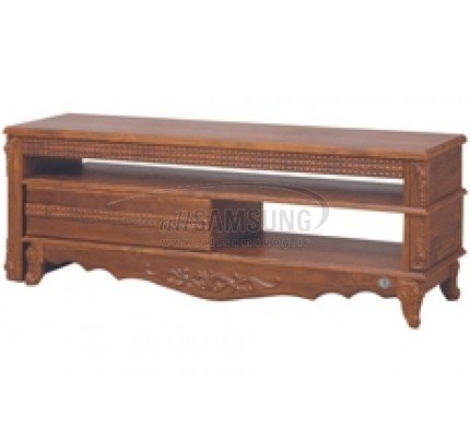 میز تلویزیون سامسونگ مدل R712 آنتیک کاج Tv Stand R712 Antique Kaj