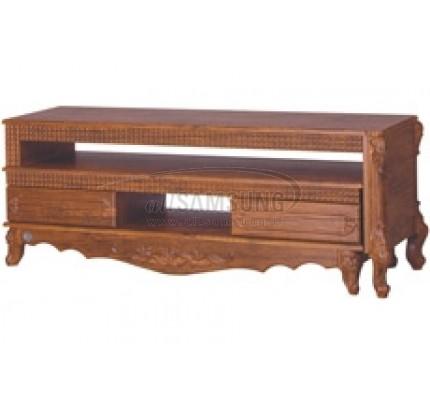 میز تلویزیون سامسونگ مدل R716 آنتیک کاج Tv Stand R716 Antique Kaj