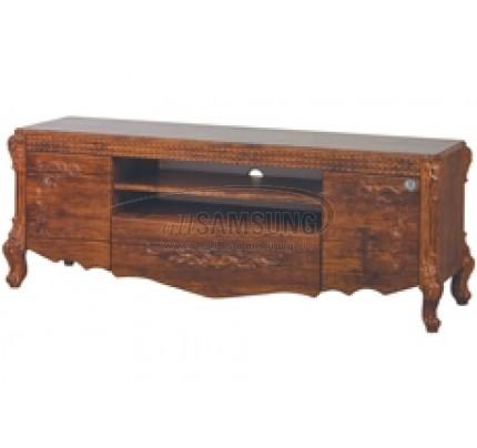 میز تلویزیون سامسونگ مدل R718 آنتیک کاج Tv Stand R718 Antique Kaj